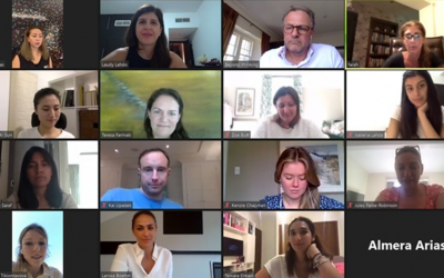 The second pilot virtual speed mentoring event with TARA