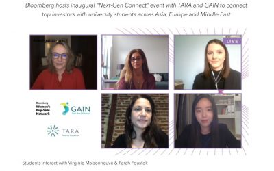 """Bloomberg hosts inaugural """"Next-Gen Connect"""" event with TARA"""